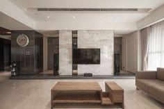 Minimalist Loft is a stunning residential project designed by Ting Chung and Oliver Chung of Oliver Interior Design. It is located in Gushan District, a district of Kaohsiung City, Taiwan.