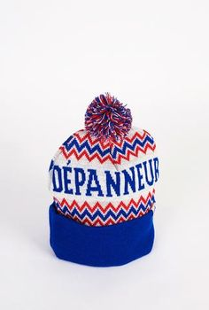 Depanneur Pom Pom Toque - Main and Local Montreal, Beanie, Hats, Accessories, Collection, Fashion, Moda, Hat, La Mode