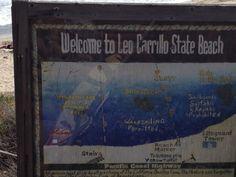 Today's spot, Leo Cabrillo State Beach.