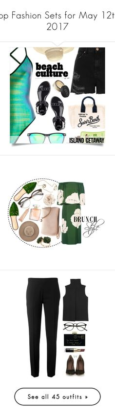 """""""Top Fashion Sets for May 12th, 2017"""" by polyvore ❤ liked on Polyvore featuring River Island, Givenchy, Heidi Klein, MC2, Hawaiian Tropic, NARS Cosmetics, islandgetaway, Charlotte Olympia, 10 Crosby Derek Lam and LC Lauren Conrad"""