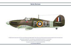 Hurricane GB 312 Sqn by WS-Clave.deviantart.com on @DeviantArt