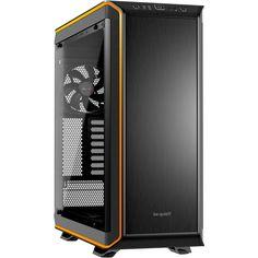 be quiet! Dark Base 900 Pro gedämmt mit Sichtfenster Big Tower ohne Netzteil schwarz/orange