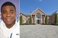 Tracy Morgan buys stunning colonial home in New Jersey Celebrity Homes For Sale, Celebrity Houses, Celebrity Mansions, Tracy Morgan, Rio Vista, Colonial Style Homes, Colonial Mansion, Traditional House, New Jersey