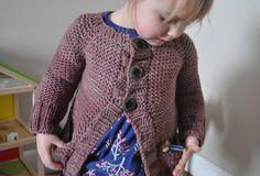 Ravelry: Little Hiker's Cardigan pattern by Melissa LaBarre