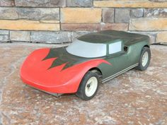 "Vintage REMOTE CONTROL CAR Gas Engine Large RC Cars 20"" Parts Rebuild RARE TOYS"