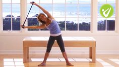 14-Minute Pilates Workout with Exercise Band - Kristi Cooper