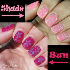 Check out how cool our light sensitive gel polishes are! #ShopBM