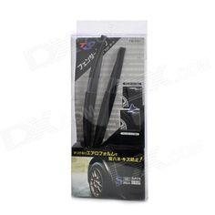 Универсальный автомобильный колесных арок колес для губ - черный (2 шт / 25см длина)