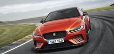 Hand-built by the crew at Jaguar Land Rover Special Vehicles Operations, the 2018 Jaguar XE SV Project 8 is the very definition of a factory hot rod. Jaguar Xe, New Jaguar, Jaguar F Type, Jaguar Cars, Jaguar Land Rover, Ferrari, Lamborghini, 3 Bmw, Bmw M3