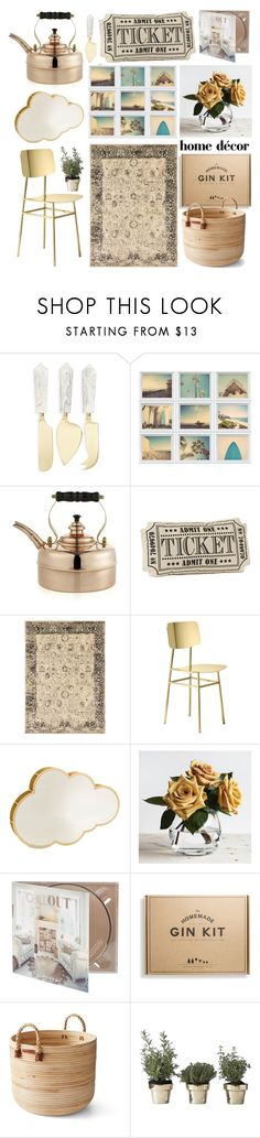 """Home Decor"" by thestyleartisan ❤ liked on Polyvore featuring Thirstystone, Crate and Barrel, Alexander, Ghidini 1961, Altreforme, Zara Home, Ralph Lauren and Skultuna"