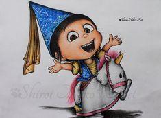 Despicable Me Drawing - Agnes by ShiroiNekosArt on DeviantArt