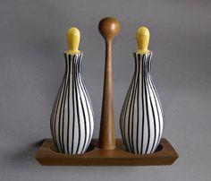 cerâmica modernista em portugal: Galheteiros - SECLA