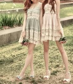 These are very pretty dresses! I want to wear  them both!