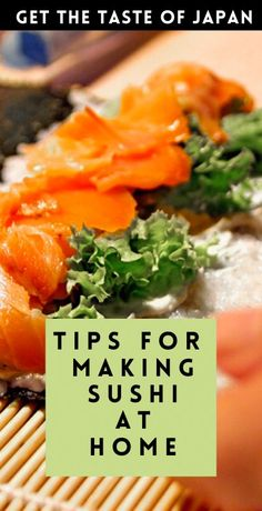 Get a taste of Japan in quarantine by making homemade sushi! Here are the essential tips for making sushi at home! How To Make Sushi, How To Make Pizza, Making Sushi At Home, Sushi Rolls, Sushi Sushi, Homemade Sushi, Japanese Sushi, Sushi Recipes, Cooking Classes