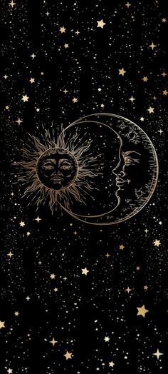 Sun and moon love wallpaper☀️🌙