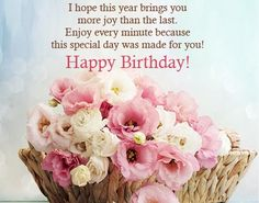 Happy Birthday Messages – Birthday wishes, Images and quotes