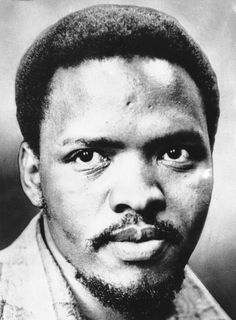 Stephen Bantu Biko — South African anti-apartheid activist, first as a student and later as founder of the Black Consciousness Movement which would empower & mobilize much of the urban black population.
