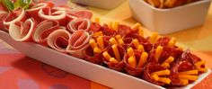 Salami & Cheese Appetizer--Easy to make and tastes delicious.