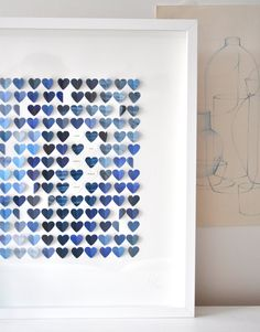 Personalized Little Sky Hearts - Large size