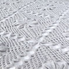 Luxury Crochet Lace Throw Kit   Warm Pixie DIY