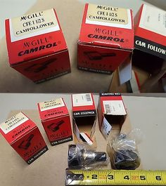 Business Industrial: Lot Of 4, Mcgill New Cam Followers, Cfe 1-1 2S, New In Box -> BUY IT NOW ONLY: $59.99 on eBay!