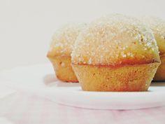 Briciole di delizie: Muffins doughnuts: zucchero e cannella