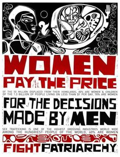 Women pay the price!