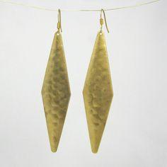 Chandelier dangle statement earrings .High fashion statement jewelry