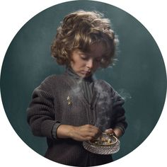 In your father's shoes  SMOKING KIDS BY FRIEKE JANSSENS || NationalTraveller.com