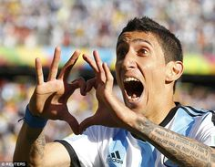 Sign: Di Maria left the Bernabeu after the summer arrivals of star duo Toni Kroos and Jame...