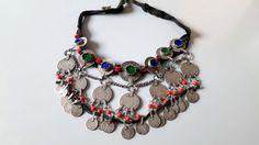 Vintage original Moroccan Berber jewelry head by tribalgallery
