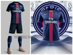 cd68584f3d07e Paris Saint-Germain 2015 2016 Nike Home Football Kit