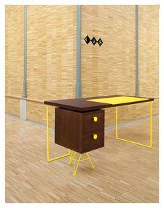 Стол для домашнего кабинета #Home_Office #Furniture #Table