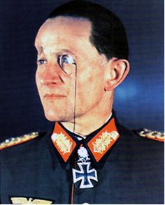 General der Panzertruppe Friedrich Wilhelm Eduard Kasimir Dietrich von Saucken (16 May 1892 – 27 Sep 1980) last officer to be awarded the KCotIC Oak Leaves, Swords & Diamonds. Knight's Cross on 6 Jan 1942 as GenMaj and leader of the 4. Panzer-Division; 281st Oak Leaves on 22 Aug 1943 as GenLt and commander of the 4. Panzer-Div; 46th Swords on 31 Jan 1944 as GenLt and commander of the 4. Panzer-Division; 27th Diamonds on 8 May 1945 as Gen der Panzertruppe and commander in chief of AOK…
