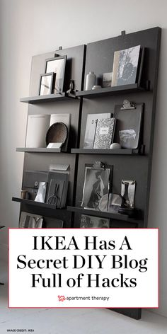The people over at IKEA are all over the clever DIY projects shoppers have been crafting with its basics. In fact, the Swedish brand has a not-so-secret website that's a library chock-full of… Diy Projects Ikea, Home Projects, Craft Projects, Ikea Furniture Hacks, Furniture Storage, Dream Furniture, Furniture Refinishing, Metal Furniture, Paint Furniture