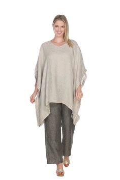 Match Point Woven Mesh Dipped Hem Caftan Tunic in Natural Womens Linen Clothing, Match Point, Cropped Pants, Bell Sleeve Top, Sharp Objects, Tunic Tops, Natural Light, Weave, Clothes