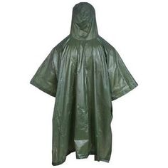 Waterproof Rain Poncho - for more awesome camping and hiking gear visit bestcampgear.net