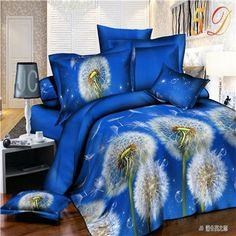 Romantic Heart-Shaped Rose 3D Bedding Set Cotton Bedroom Textiles Sets Duvet Cover Bed Sheets Pillowcases for Queen Size Beds.