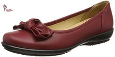 Hotter  Jewel, Ballerines femme - Rouge - Red (Cherry), 40.5 - Chaussures hotter (*Partner-Link)