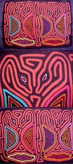 Mystery Mouse Kuna Indian Mola-Panama #15891