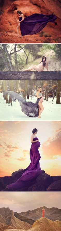 For those of you nature-loving moms-to-be preparing to document the most special time in your life, an outdoor maternity session would probably be the best way to capture your vision. Planning to get outside and enjoy a natural light-filled day with your expected baby? Here are some beautiful ideas to get you inspired!  Romantic …