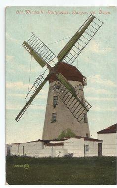Old Windmill Ballyholme Bangor Co Down Ireland Vintage Postcard | eBay