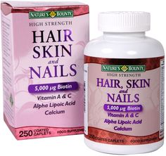 Nature's Bounty High Strength Hair, Skin and Nails Food Supplement, 250 Coated    Get Now  this Fantastic Offer. By Touch2 Is always Bringing Great Stuff to you :)