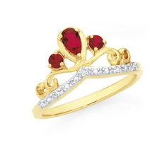 This Is So Disney Princess Snow White Maybe 9ct Gold Created