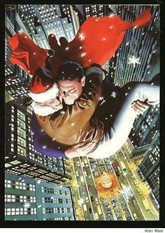 Superman and Lois Lane by Alex Ross