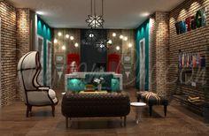 hotel boutique design by myriam ch, via Behance