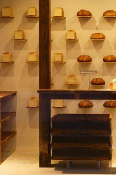 PICCO LINO(ピッコリーノ) (4) Bakery Cafe, Cafe Restaurant, Restaurant Design, Japan Design, Bakery Shop Design, Store Design, Japanese Bakery, Bakery Interior, Bread Shop