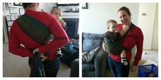 Babywearing International of Hampton Roads: Carry Of The Month: Poppins Hip Carry