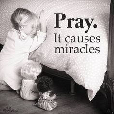 It causes miracles ~~I Love the Bible and Jesus Christ, Christian Quotes and verses. Bible Quotes, Bible Verses, Me Quotes, Mystic Quotes, Power Of Prayer, Prayer For A Miracle, Lord And Savior, Spiritual Inspiration, God Is Good
