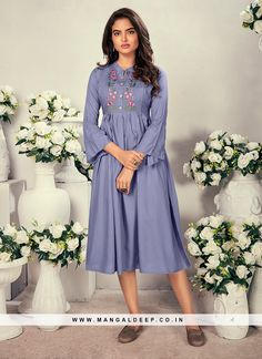 31068 Latest Kurti Design LATEST KURTI DESIGN | IN.PINTEREST.COM FASHION #EDUCRATSWEB